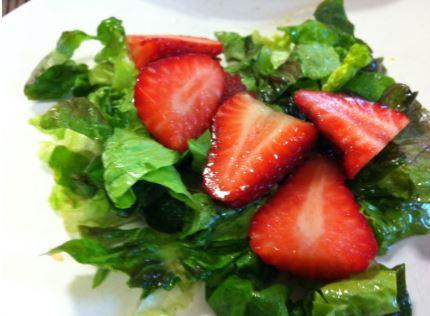insalata rossa e verde
