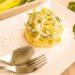 pasta con zucchine e mandorle