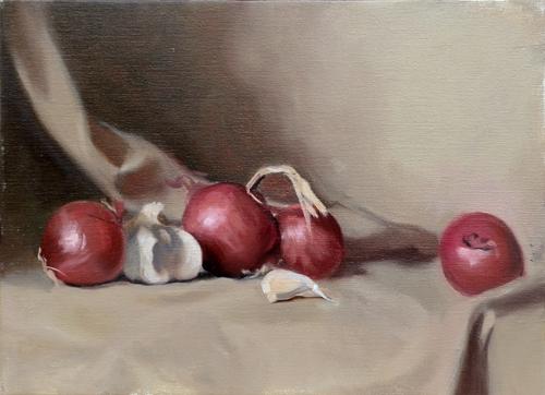 cipolle rosse nell'arte
