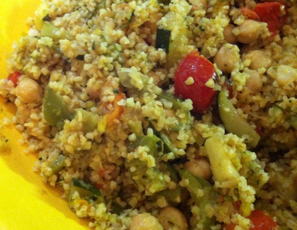tabuleth invernale con verdure