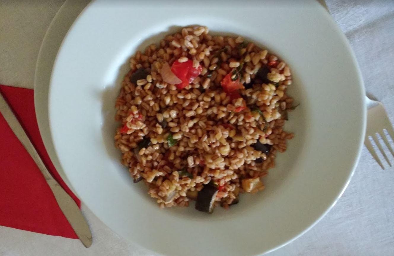 insalata di farro alla siciliana