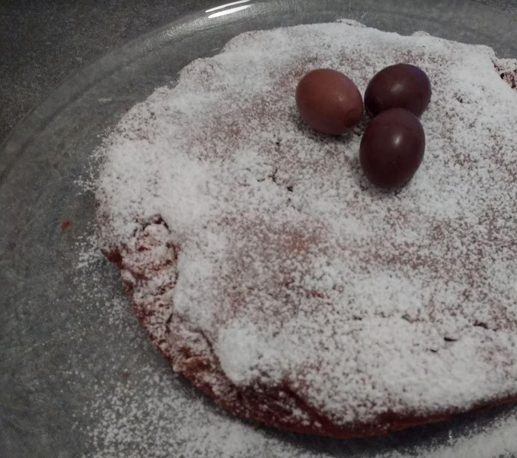 torta con i cioccolatini lindor