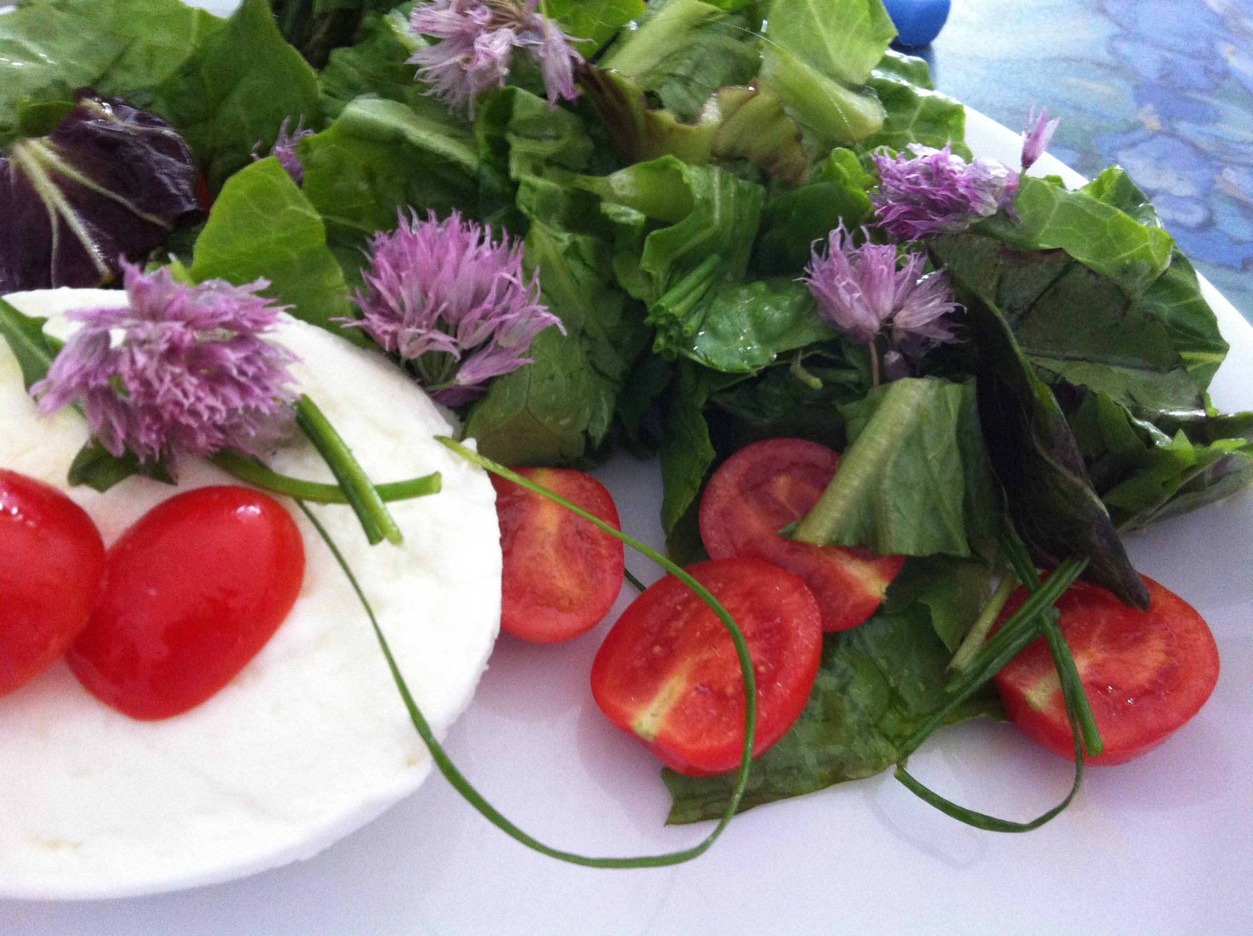 insalata fiorita