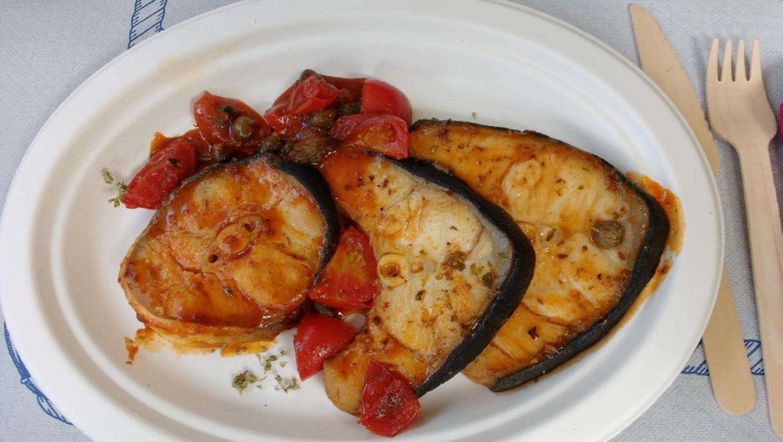 ventresca di tonno alla siciliana
