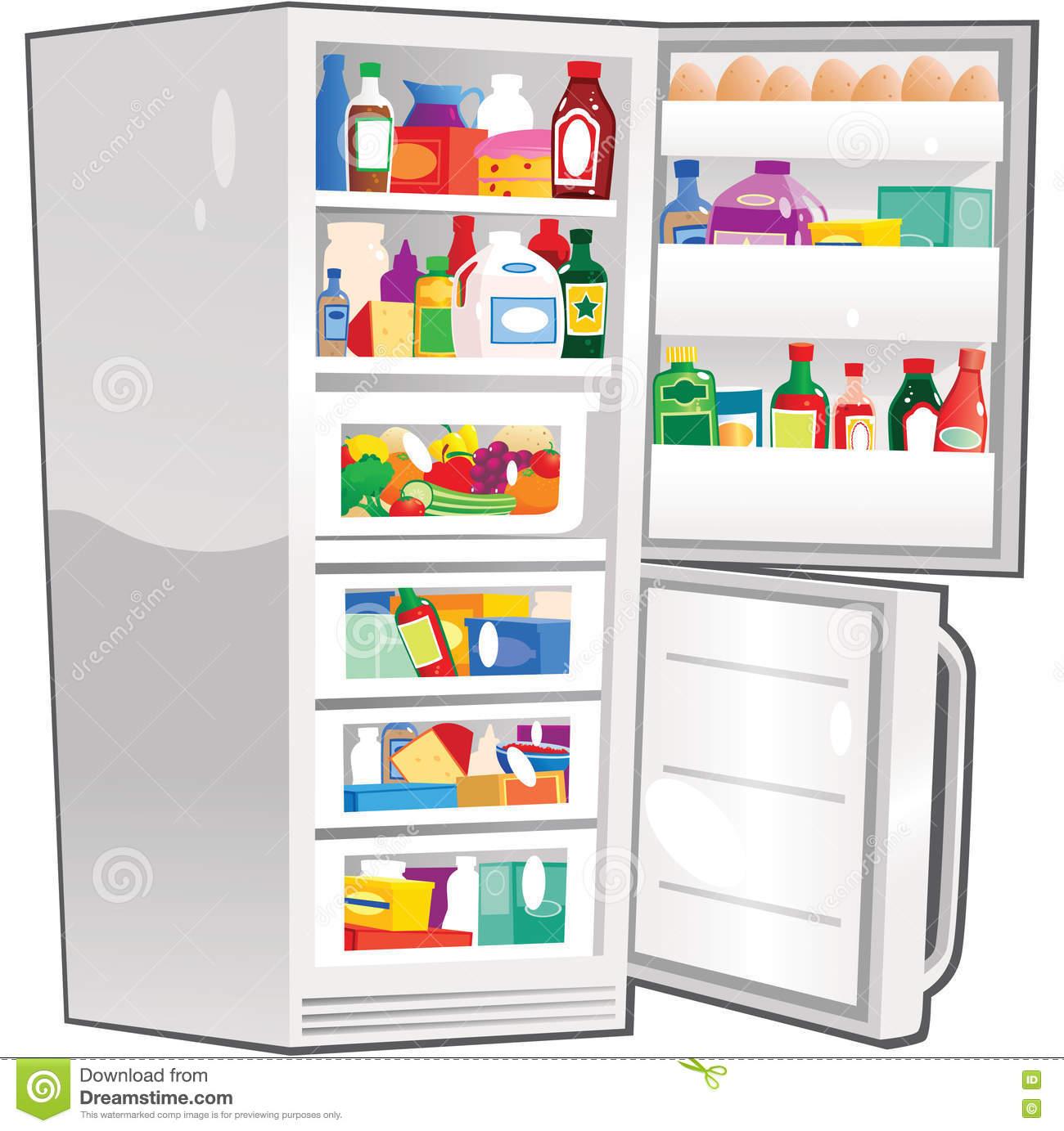 le scorte in frigorifero