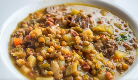 zuppa-lenticchie-carciofi-nonsprecare