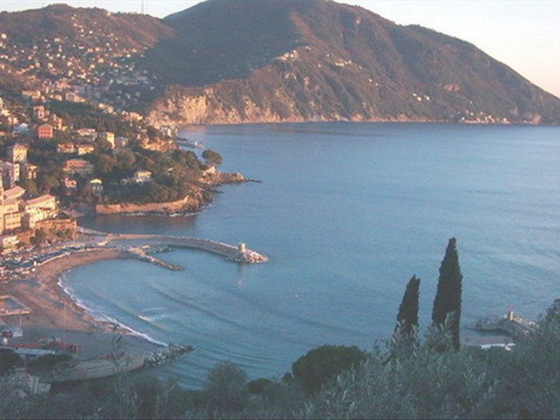 Veduta di Recco (Genova)