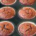 muffin al cioccolato con l'avocado al posto del burro