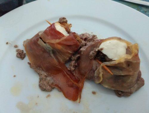 filetto con rosmarino e pancetta