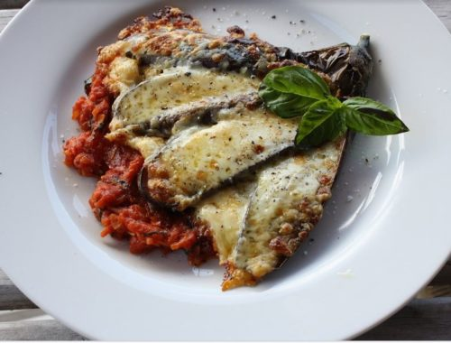 parmigiana alla greca o moussaka all'italiana