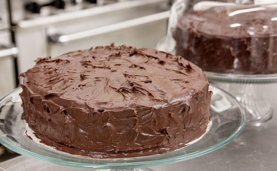 torta cioccolato con glassa