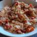 insalata riso basmati e pomodorini confit