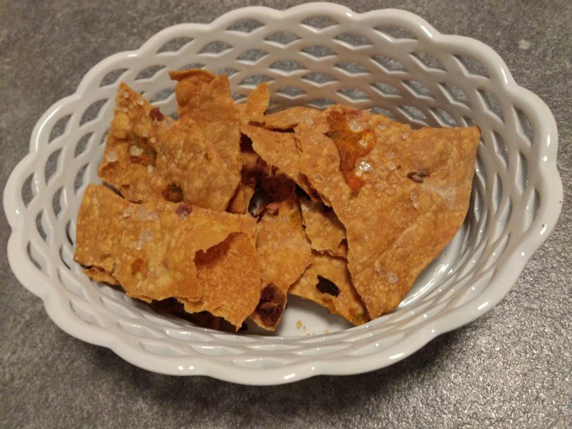 crackers ai fiori di zucca