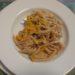 pasta con zucchini gialli e limone
