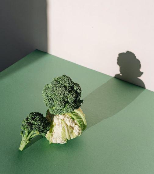 scarti di cavolfiore e broccoli