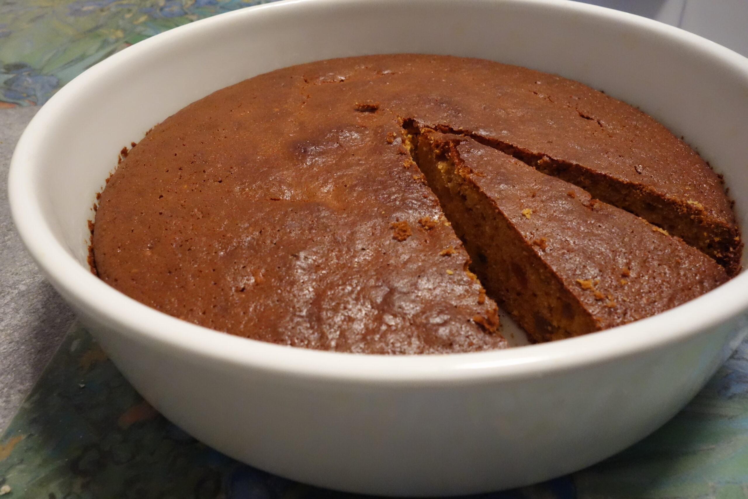 torta speziata con la saba