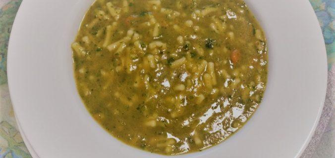 minestrone genovese con il pesto